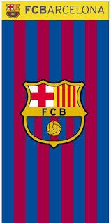 Barcelona Duvet Set Strandlaken Voetbal Fc Barcelona Stripes Strandlakens