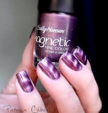sally hansen magnetic nail polish 902 polar purple free delivery