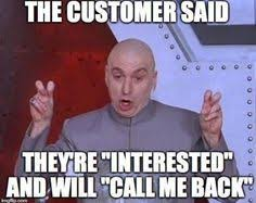 Cold Calling Meme - getting personal with your b2b sales pitch sales marketing tech