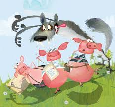 140 images pigs red riding