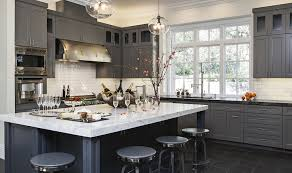 Slate Grey Kitchen Cabinets Gray Kitchen Cabinets Transitional Kitchen Hyde Evans Design