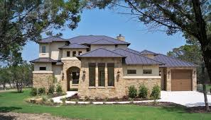 hill country home design stone house floor plans donald