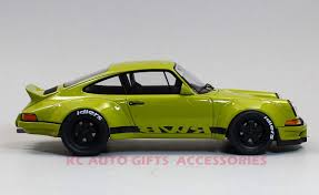 rwb porsche yellow gt spirit gt120 porsche 930 rwb in kaki 1 18 scale resin car