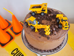 construction cake ideas birthday cake ideas great unique construction birthday cake