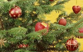 download wallpaper 3840x2400 christmas new year fur tree