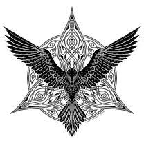 tribal raven tattoo google 検索 tattoo designs pinterest