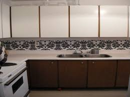 Kitchen Cabinet Paper Great Idea Paint The Inside Of Kitchen Cabinet Doors With