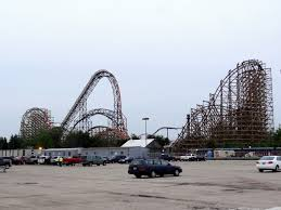 Goliath Six Flags Goliath Review And Media Day Coverage Coaster101