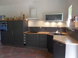 meuble de cuisine noir beau meubles cuisine gris avec meuble de cuisine noir laqu unique