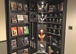 Batman Bookcase Ht Of The Month The Batcave Avs Forum Home Theater