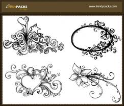 abstract ornaments free vector 4vector