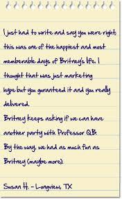 photos and professor qb professor qb makes birthday easy and professor qb