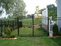 white aluminum fence panels home u0026 gardens geek