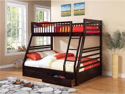 Twin And Full Bunk Beds by Cooper Transitional Cappuccino Twin Full Bunk Bed Coaster 460184