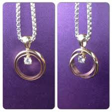 widow wedding ring made this necklace for a widow with late husband s