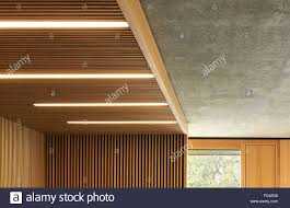 timber lining and concrete ceiling soffit britten pears archive