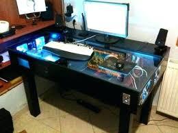 Desk With Computer Built In Built In Computer Desks Computer Built Into Desks Clicktoadd Me
