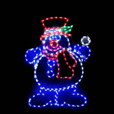 outdoor christmas decorations yard art light sculpture decorative