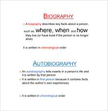 biography an autobiography difference autobiography outline template 17 free word pdf documents
