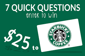 survey for gift card small business survey win a 25 gift card to starbucks