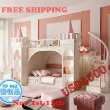 Princess Castle Bunk Bed Princess Castle Bunk Beds Beds Children S Furniture For