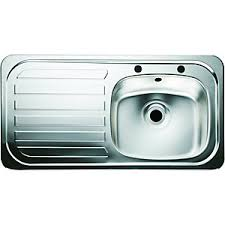 Stainless Steel Sinks Kitchen Sinks Unit Kitchens Wickes - Metal kitchen sink