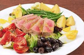cuisine nicoise salade niçoise with pan seared tuna recipe mygourmetconnection