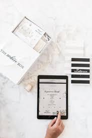 online wedding planner designer spotlight the white box delivers custom wedding planner