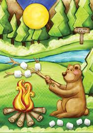 Decorative Flags For The Home Camping Bear Flag Mad About Gardening