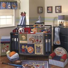 Boy Nursery Bedding Set by Lovely Sports Crib Bedding Sets Home Inspirations Design