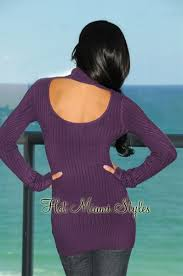 keyhole turtleneck purple turtleneck keyhole cable knit sweater top