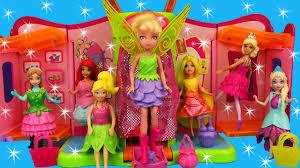 frozen elsa kids toys disney princess magic clip dolls polly