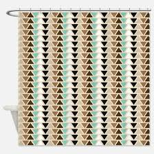 Green And Brown Shower Curtains Mint Green And Brown Shower Curtains Cafepress