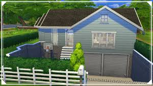 norsk the sims 4 speed build split level familiehus youtube