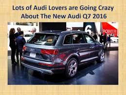 audi suv q7 price the audi q7 2016 car india review price launching