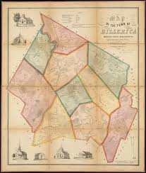 Massachusetts Counties Map by File Map Of The Town Of Billerica Middlesex County Massachusetts