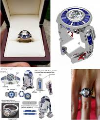 r2d2 wedding ring the most untraditional engagement rings random tuesdays