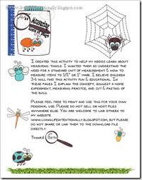 measuring bugs free printable