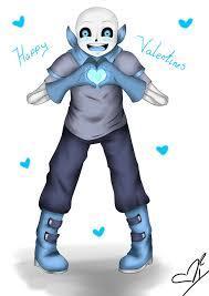 happy valentines day blueberry sans by bat gamb on deviantart