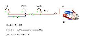 guitar pedal why are two diodes used here electrical