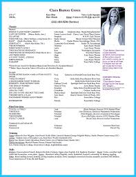 Acting Resume Samples by Actor Resume Samples Resume Cv Cover Letter