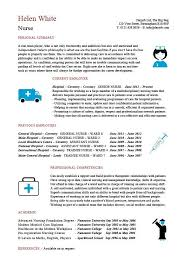 Resume Sample For Doctors by Nursing Cv Template Nurse Resume Examples Sample Registered