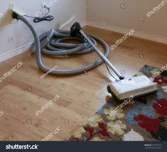 cleaning contest beautiful bamboo hardwood floor stock photo