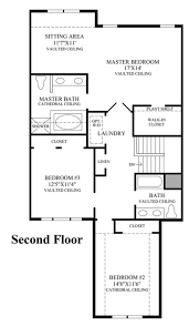 Townhome Floor Plan by Bowes Creek Country Club The Townhome Collection The Eastport