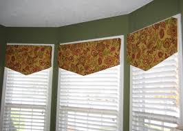 Bedroom Wall Of Windows Divine Decorating Ideas Using Brown Motif Valance And White Blinds