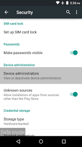 uninstall malware from your android device android