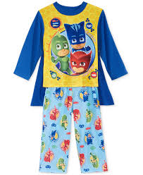 pj masks toddler boys pajamas cape