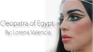 cleopatra of egypt makeup youtube
