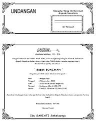 template undangan haul contoh undangan tahlilan 100 hari meninggalnya
