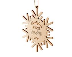 Baby S First Christmas Wooden Bauble by Baby First Christmas Etsy